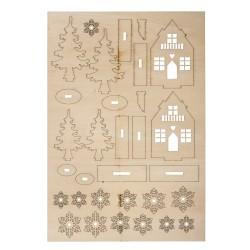 Kit en bois, maisons d'hiver