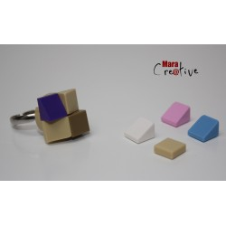 Création - Beige ring -...