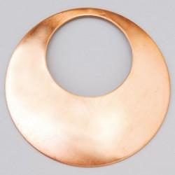 Curved round neck ø 68 mm