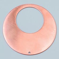 Pendentif rond diam 68 mm