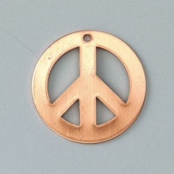 Pendentif symbole de paix