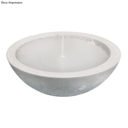 Kit: Concrete cup with candle