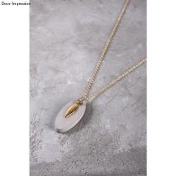 Betonset voor ovale sieraden