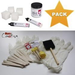 Pack pâte béton créatif