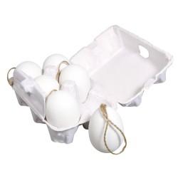 6 Oeufs en plastique