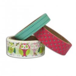Masking tape – Hiboux, 3x5m