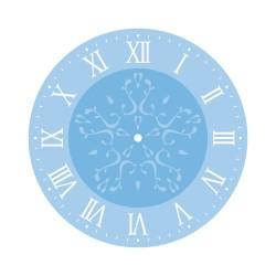 Kit de pochoirs pour horloge