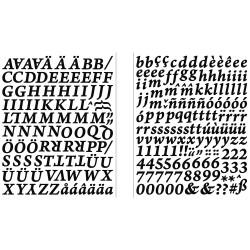 Sticker alphabet et...