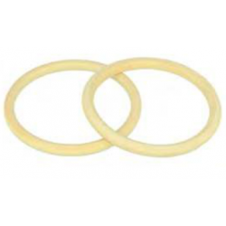 2 wooden rings 68 mm