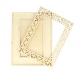 Opengewerkt frame