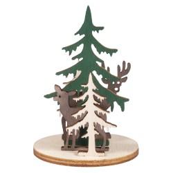 Miniatures en bois Forêt