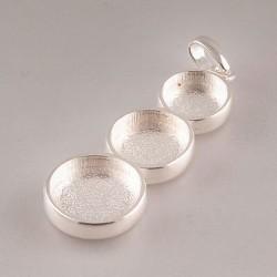 Round Cernit pendant