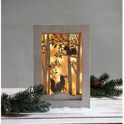 Kit cadre 3D Forêt et renard