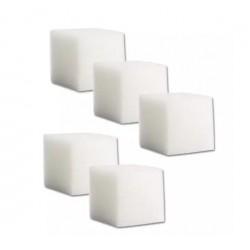 30 cubic sponges