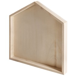 Wooden frame, House
