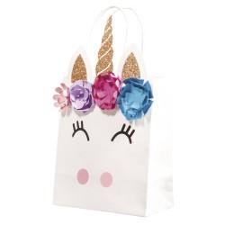 Kit: 4 sachets cadeau Licorne