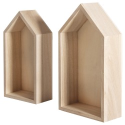 2 Wooden Frame Houses G