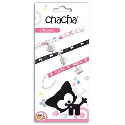 Kit 3 bracelets Chacha