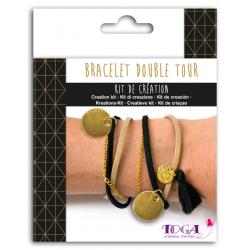 Gouden armbandenset