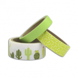 3 Masking tape – Cactus, 3...
