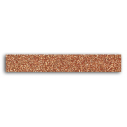 Glitter tape - Uni - Copper