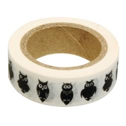 Washi Tape - Owls, 15m