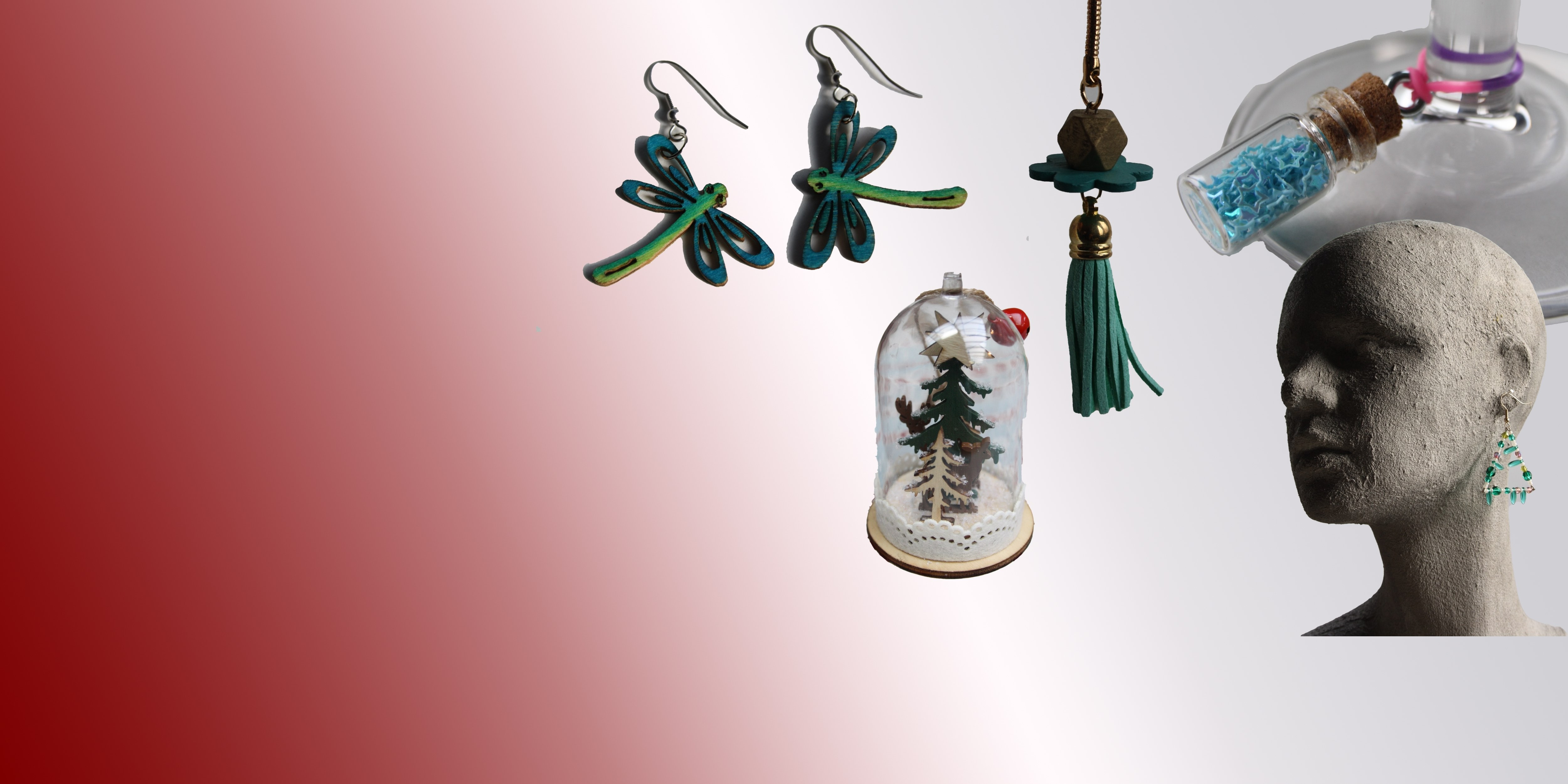 Découvrez les créations de nos artistes et artisans Belges.  Bijoux, objets de décoration, dessins, ...