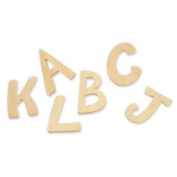 Lettres en bois 6 cm