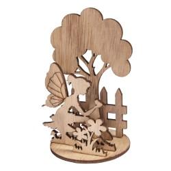 Miniatures en bois: Elfe