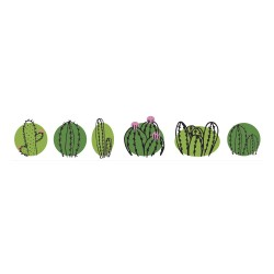 Washi Tape - cactus family,...