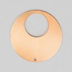 Pendentif rond diam 35 mm