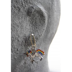 Boucles d'oreille Licorne