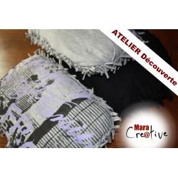 ATELIER: Coussins sans couture