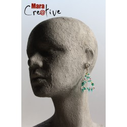 Boucles d'oreille triangle