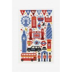 Kit broderie Londres 03