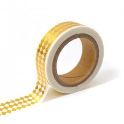 Masking tape – losange doré