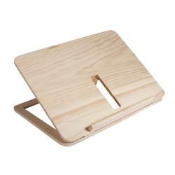 Support de livre en bois