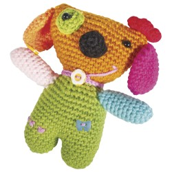 Kit : Chien crocheté