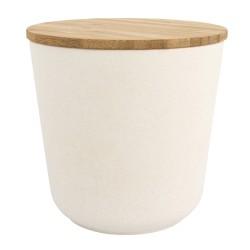 Boîte en bambou ronde