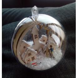 ATELIER: Boule de Noël
