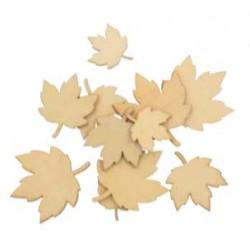 30 silhouettes de feuilles...