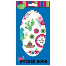 Carnet de stickers Viva la...
