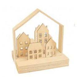 Kit: Paysage en bois, la ville