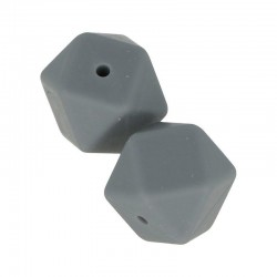 Perles en silicone hexagonale