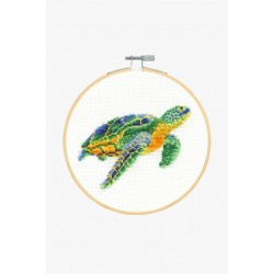 Kit broderie Tortue tranquille