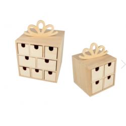 Rangement 2 boîtes cadeaux