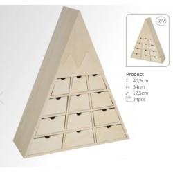 Rangement montagne 24 tiroirs