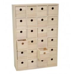 Rangement 24 tiroirs