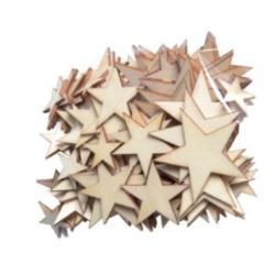 Etoiles en bois assortiment