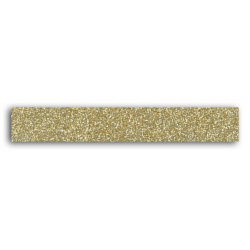 Glitter tape – Uni - Or